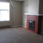 Chester Terrace Apartments #1220C fireplace