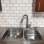 1507 E 3rd Street kitchen sink and backsplash